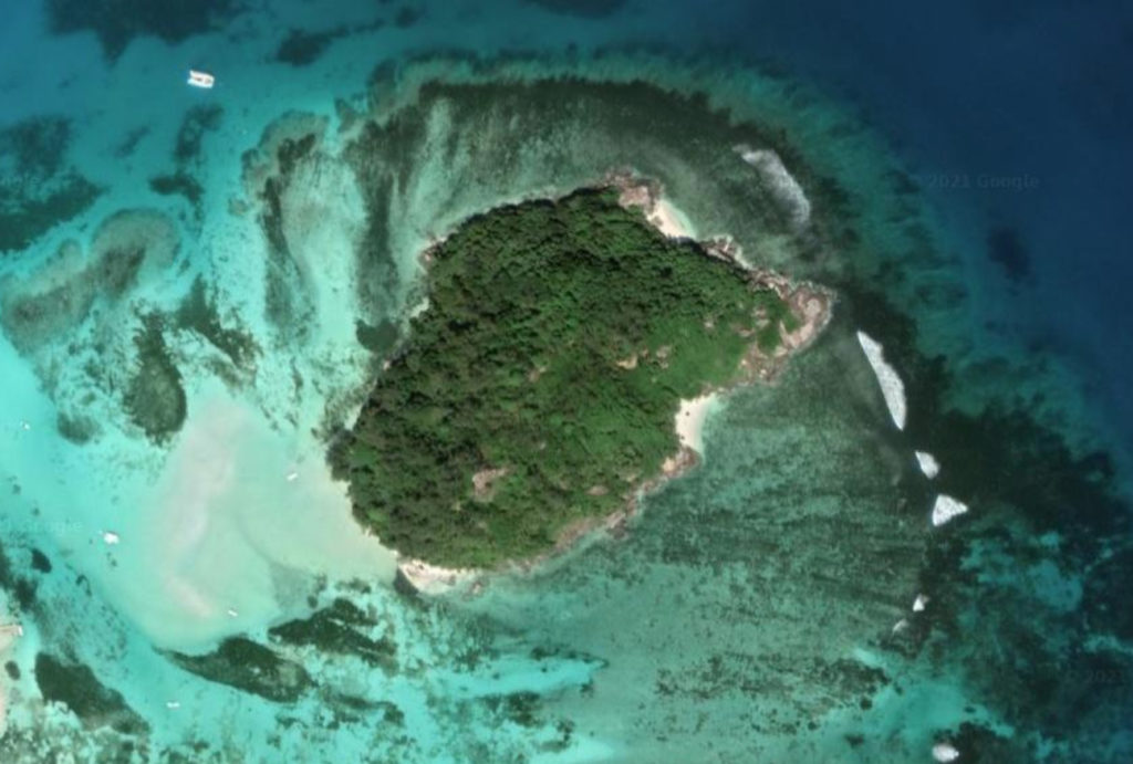 Moyenne Island aux Seychelles