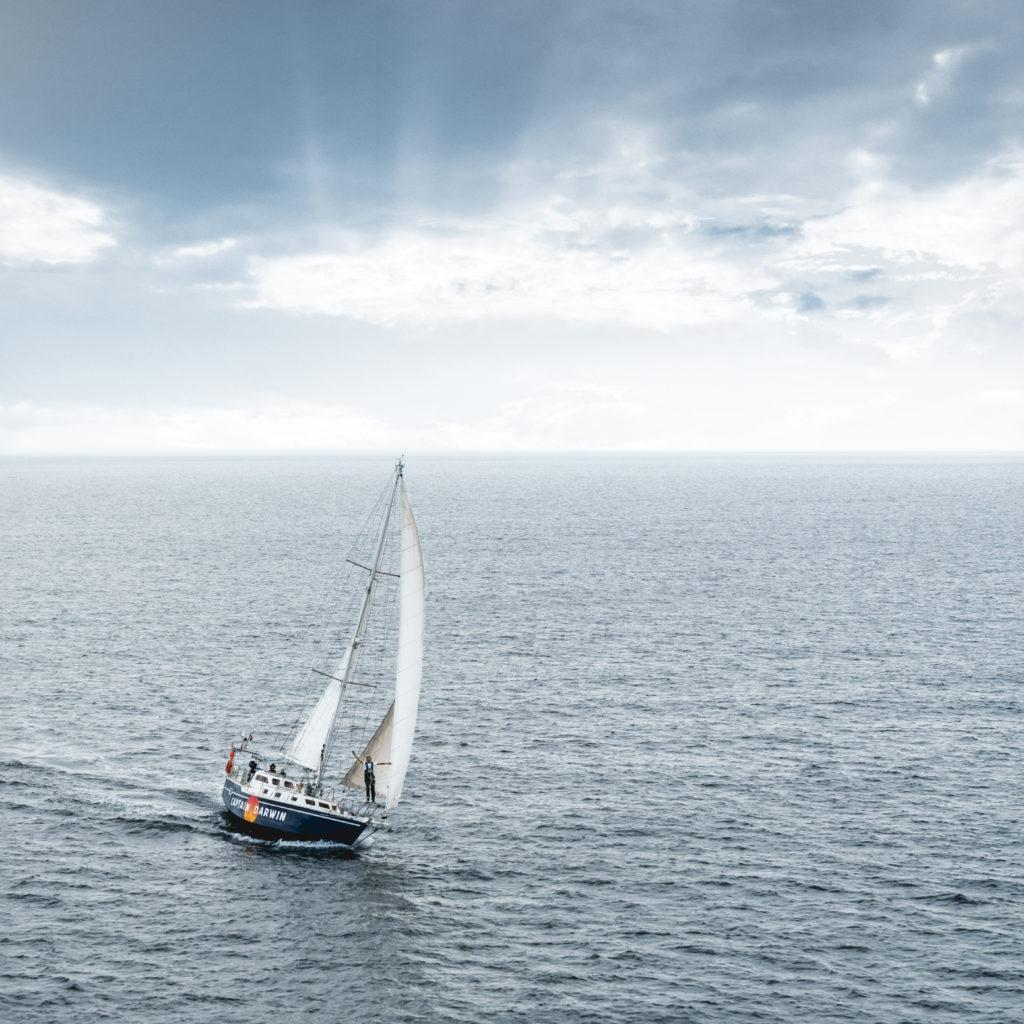 Mukti, le bateau de Captain Darwin (© Maxime Horlaville/Captain Darwin)