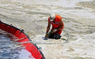 Nettoyage du Mucilage en mer de Marmara